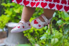 Queen of Hearts Ballet Bling Baby Shoes, Baby Bling, Cute Kids, Cute Babies, Christmas Shoes, Baby Fashionista, Baby Keepsake, Baby Models, Queen Of Hearts