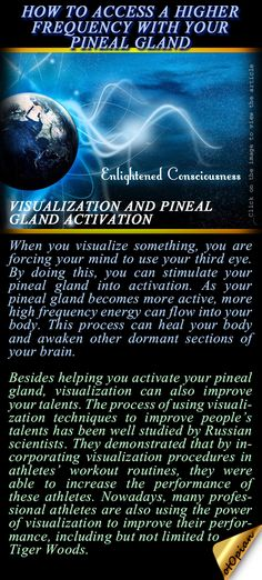 CONNECT TO YOUR INNER-BEING! How to Access A Higher Frequency With Your Pineal Gland. http://www.inner-being.eu