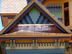 old copper shingle roofing - Google Search