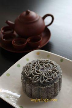 Mid-Autumn Special: Black Sesame Unbaked Mooncake Recipe