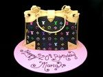 handbag cake LV 20th birthday cake idea inspired by michelle cake designs