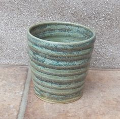 Water Milk Juice Tumbler Cup Hand Thrown Stoneware Pottery by Caractacus Pots on Gourmly