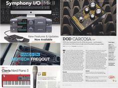 Our latest #ThisWeek blog features Guitatists' 'Choice Award' for the DOD Carcosa Fuzz pedal New Features for the Apogee Symphony I/O Mk II Audio Interface MusicTechs Choice award for the AKG C7 Sound On Sound on the Nord Piano 3 and get hands on with the DigiTech FreqOut with MusicRadar... . . . #soundtechuk #apogee #nordkeyboards #digitech #dod #akg #soundonsound #musicradar #award #review #video #piano3 #carcosafuzz #symphonyII #c7 #freqout #pedal #music #sound #audio #technology…