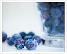 Kitchen Art Print, Food Art Photo, Blueberries, Fruit Art Print, 8x10 - Islay Corners via Etsy #fpoe