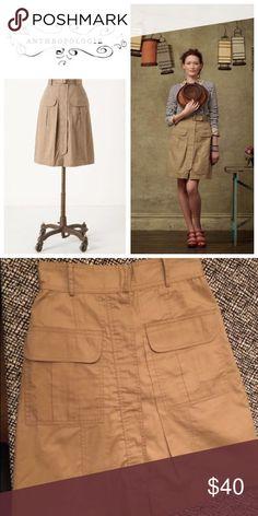 Plenty Cargo Skirt Knee length skirt Anthropologie Skirts Midi