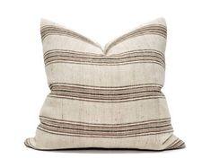 Myhavenhome Handmade Pillows, Boho Pillows, Throw Pillows, Pillow Cover Design, Pillow Covers, Designer Pillow, Vintage Textiles, Light Beige, Natural Linen