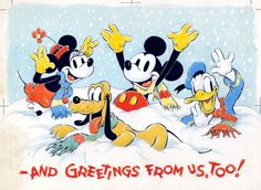 Season's Greetings from The Walt Disney Company!