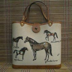 Enid Collins ~ Horses bag