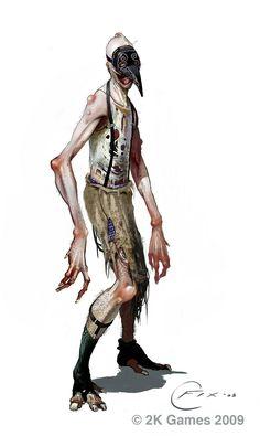 Knuckle Deep: More Bioshock 2 Concept Art