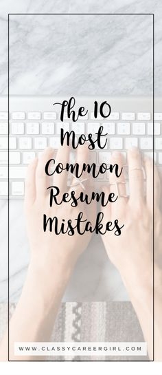 How I Got Over My Networking Struggles (VIDEO Pinterest Career - resume mistakes