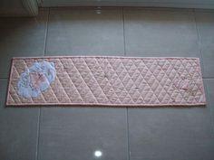 Ladybird & Hearts Tablecentre.  Pattern $15.95