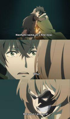 Naofumi-sama It's fine now. Do you like memes? visit my site for many more anime memes. Anime Meme, Funny Anime Pics, All Anime, Manga Anime, Stupid Memes, Funny Memes, Funny Videos, Chino Anime, Funny Girl Movie