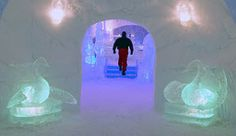 Sorrisniva Igloo Hotel, Alta in Norway - Photo: Bård Løken/Alta Friluftspark Longyearbyen, Kirkenes, Beautiful Norway, Ice Hotel, Scandinavian Countries, Cabin Homes, Winter Travel, Where To Go, Travel Inspiration