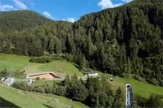 Hydroelectric power station Punibach. Location: Mals, Italy; architects: monovolume architecture + design; year: 2011