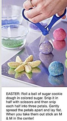 Easter isn't all about decorating eggs and watching for the Easter Bunny. It's also about the food. Whether you are planning a big Easter dinner, a small brunch or you just want a few recipes No Fail Sugar Cookie Recipe, Easter Cookie Recipes, Easter Snacks, Easter Cookies, Easter Brunch, Sugar Cookies Recipe, Easter Treats, Easter Food, Easy Easter Desserts