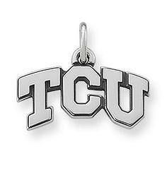 TCU Charm   James Avery