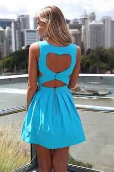 HEART CUT OUT DRESS , DRESSES,,Minis Australia, Queensland, Brisbane