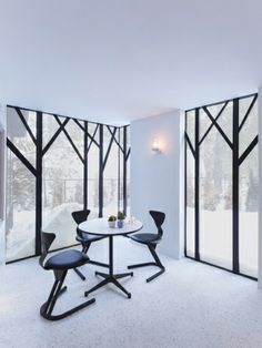 Lake Cottage by UUfie - News - Frameweb love this window