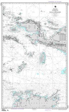 NGA Chart 73020: Halmahera to Gulf of Carpentaria