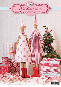 Crafts & Cia:free Tilda doll patterns
