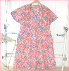 Vintage Feed Flour Sack Primitive Country Dress by justjunkin2, $35.99 I have heard many older women here tell me how they made dresses from seed sacks---this is Southeastern Ohio