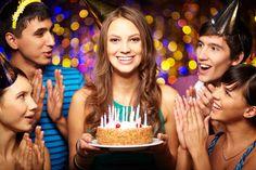 День рождения модная вечеринка