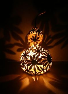 Gourd Lamps paisley gourd lamp via etsy. | paisley | pinterest | tables