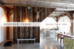 Weekend Cabin: Bovina, New York