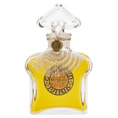 There's a Guerlain perfume bottle on the dressing table of Olga (Florinda Bolkan), Martin Von Essenbeck's mistress. It's the flacon bouchon coeur with the classic heart-shaped sto…