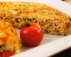 Nutrición funcional - Tortilla de arroz al horno - Cocina Popular .es