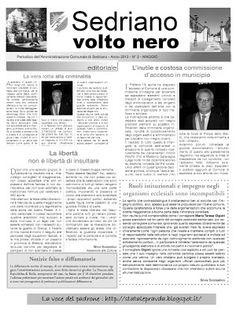 Sinistra di Sedriano: Informatore comunale: dimentichiamoci i fatti per ...