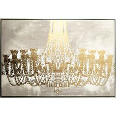 Gala Night Luxe Framed Canvas Art