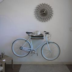 Bike Shelf - doubles as a bike holder
