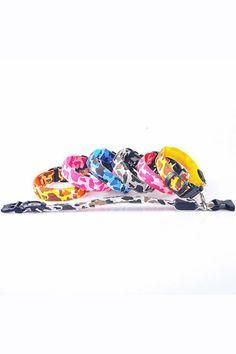 "- 100% Nylon - Camouflage Pattern - Size - Small collar Width: 1"", Length: 12"" - 15"" - Medium collar Width: Width: 1"", Length: 15 1/2"" - 19"" - Large collar Width: Width: 1"", Length: 15 3/4"" - 22 3/4"""
