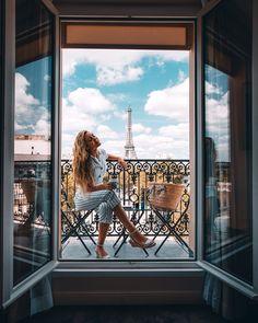 Travel Goals | Eiffel Tower views in Paris France #FranceBucketList