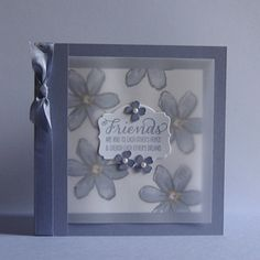Card made in Wisteria Wonder with the Stampin Up Garden in Bloom Stamp Set. :)