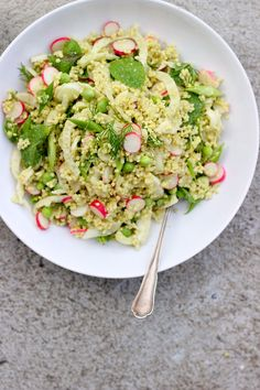 Spring Millet Salad with Creamy Dill Dressing ⎮ happy hearted kitchen