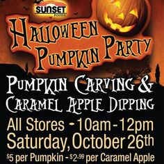 PUMPKIN CARVING & APPLE DIPPING! Your kids will love carving pumpkins (while you leave the clean-up to us)! NEXT SATURDAY 10/26, 10–noon, $5/pumpkin. (Space is limited; sign-up recommended, adults must accompany kids under 8.) PLUS, you'll all love APPLES DIPPED in fresh warm CARAMEL SAUCE, then TOPPED with your choice of TOFFEE, M&M's, CHOCOLATE CHIPS or PEANUTS! Only $2.99/apple.