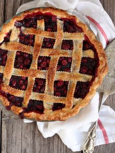 Cranberry Blueberry Pie. Add Wild Blueberries