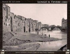 1880-Lungo il Tevere, Rome, Italy