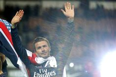 David Beckham(PSG), last game.