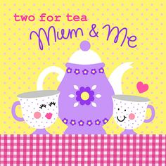 26 TWO FOR TEA by HELEN PICKUP, via Flickr