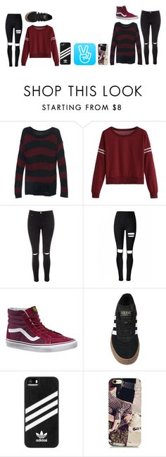 """""""[AOS LIFE] Episode four; The official announcement + small Q and A"""" by deaththeghoul ❤ liked on Polyvore featuring Glamorous, Vans and adidas"""