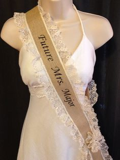 Bachelorette Party Sash Bridal Shower Sash Bride To Be Sash