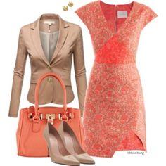 No. 498 - Jacquard dress