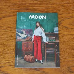 Moon Magazine - Issue 3. Moon is a magazine created by London based stylist, designer and art director Verity Pemberton and features beautifully styled fashion and lifestyle shoots and interesting interviews. #magazine #coffeetable #art #book #photography #artdirection
