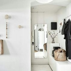 #Minimal #home #decor #nordic #inspired #minimalist #white #corner