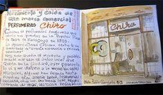 de vuelta con el cuaderno: ZARAGOZA. PERFUMERIAS CHIRO