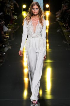 Runway walk look -OP (Elie Saab Spring 2015 Ready to Wear) wish I belonged to the ibtc so I could wear stuff like this