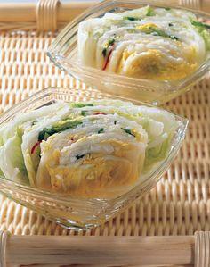 Korean White Kimchi